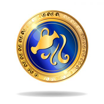 Aquarius Astrology Symbol 2019